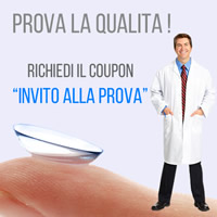 Coupon prova lenti a contatto Imago